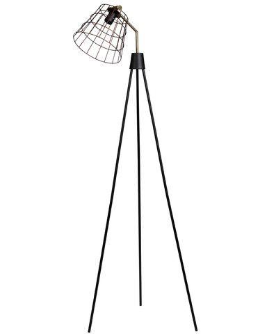 ablo industrial copper cage tripod floor light metals With copper wire floor lamp