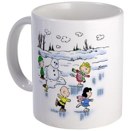 Snow Scene Mug on CafePress.com