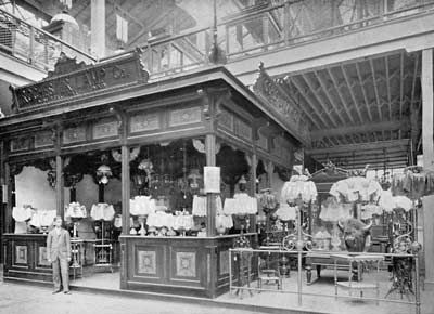 Rochester Lamp Company Exhibit At The Columbian Exposition
