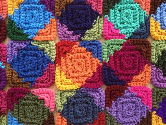 Detail of the day's effort | by crochetbug13