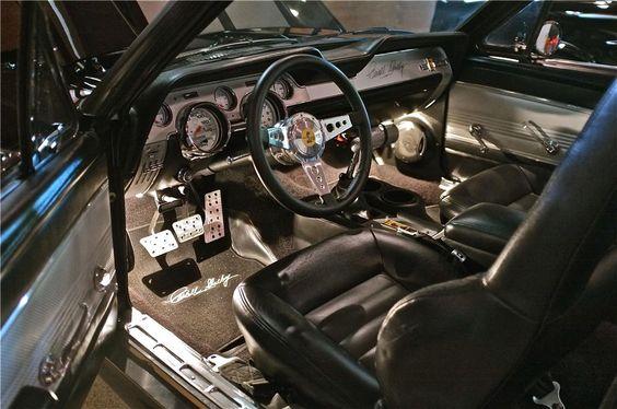 67 mustang custom dash - Google Search