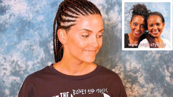 Wantina: Haarbruch nach Färbeunfall - Cornrows sind die Rettung!