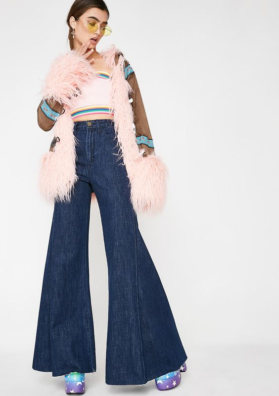 Groovy Girl Flare Jeans