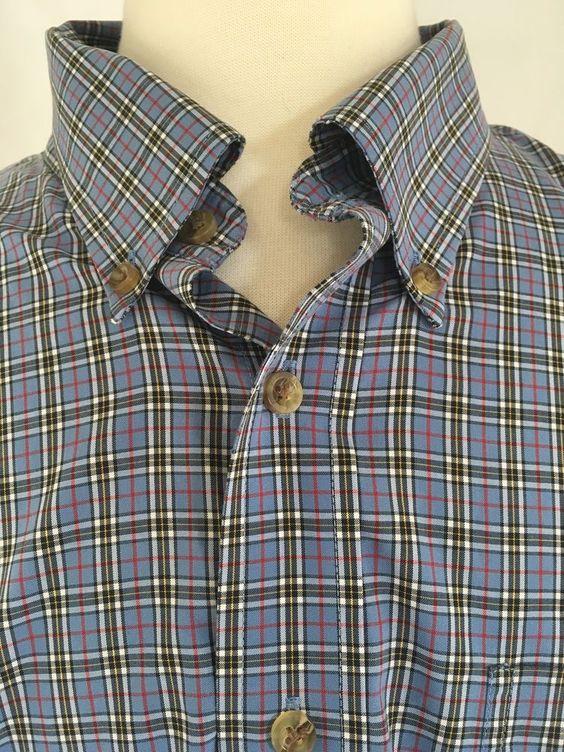 Ll bean men ll bean and plaid shirts on pinterest for Ll bean wrinkle resistant shirts