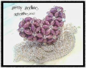 P@tty Perline : Superduo Full Heart - Un cuore pieno.... d'amore per la vita.