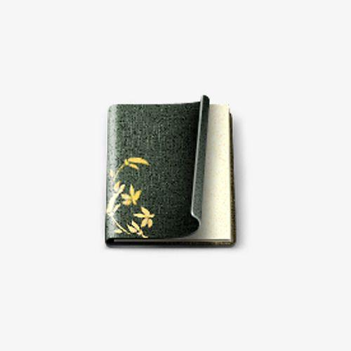 الزنجار كتاب الشاي Tea Wallet Money Clip