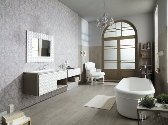salle de bain florencia porcelanosa f minine baroque et. Black Bedroom Furniture Sets. Home Design Ideas