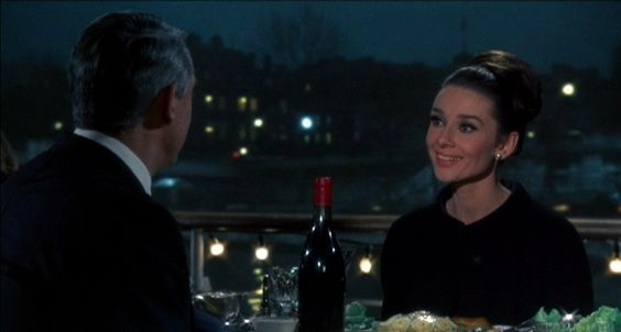 Cary Grant and Audrey Hepburn in 'Charade':
