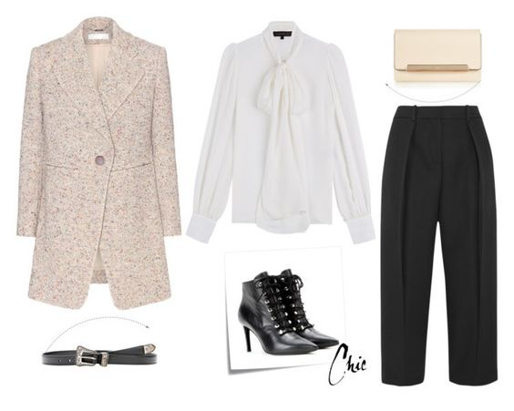 """""""263"""" by danielle-487 ❤ liked on Polyvore featuring Barbara Bui, Chloé, Joseph, Post-It, Balenciaga, Christian Louboutin and Yves Saint Laurent"""