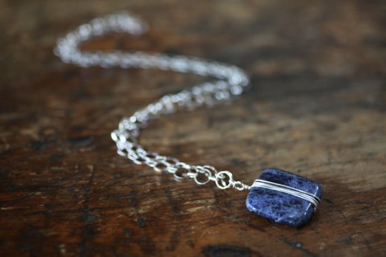 Hey, I found this really awesome Etsy listing at https://www.etsy.com/listing/234927351/sodalite-necklace-blue-stone-necklace