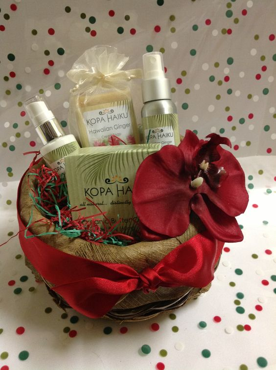 Hawaiian Natural Spa Basket   wwwhawaiisgiftbaskets.com
