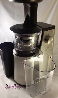 SaraVeg: Estrattore di succo a freddo-Per tenersi in forma ...