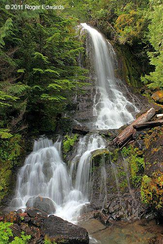 Nahunta Falls, Mt. Rainier NP, Washington