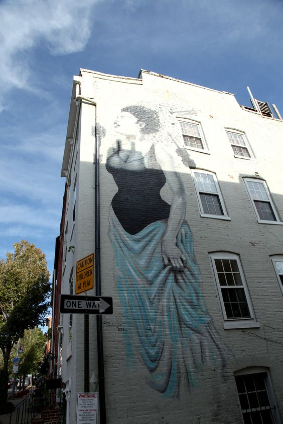 Billie holiday mural baltimore baltimore pinterest for Billie holiday mural