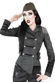 """military fashion girl"""