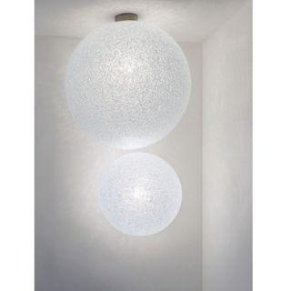 Applique et Plafonnier Ice Globe - Grande version : diamètre 45 cm - Blanc