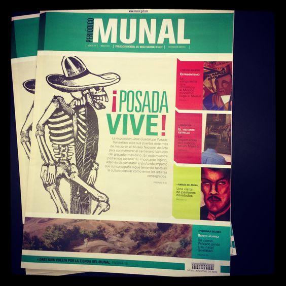Feliz con el rediseño del Periódico Munal!!!