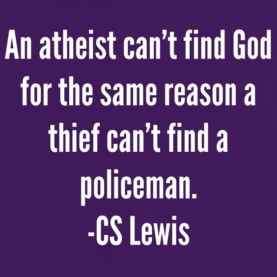 Can T Find Love Quotes: An Atheist Can't Find #God For The Same Reason A