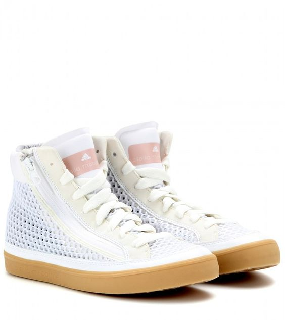 adidas by Stella McCartney Psittaci mesh high-tops on shopstyle.com