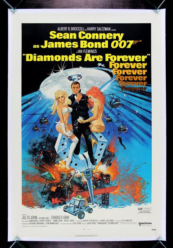 Diamonds Are Forever CineMasterpieces Original James Bond ...