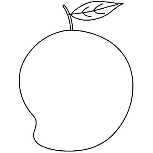 Very Easy To Draw A Mango Very Easy To Draw A Mango Kids Art Hub
