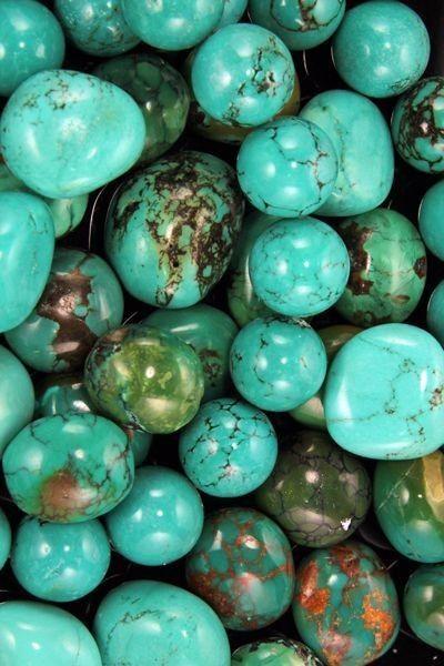 Turquoise pierres - Harmonie Chakras