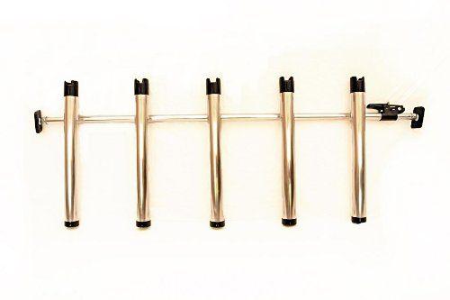 Portarod 5 rod holder fishing rod holder transporter for for Truck bed fishing rod holder