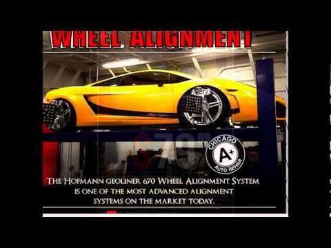 Chicago A+ Mufflers and Brakes | 4-Wheel Alignment service