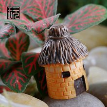 Resin Crafts Cartoon Faces House Model Ornaments Fairy Garden Miniatures Home desktop/ Succulents/ Micro Landscape Decoration(China (Mainland))