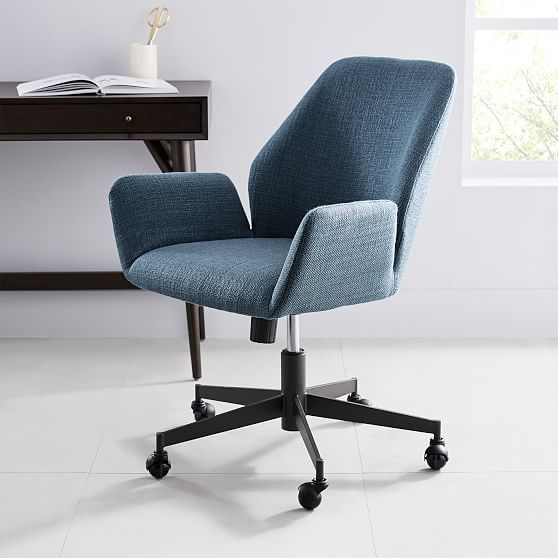 Aluna Upholstered Office Chair Most Comfortable Office Chair
