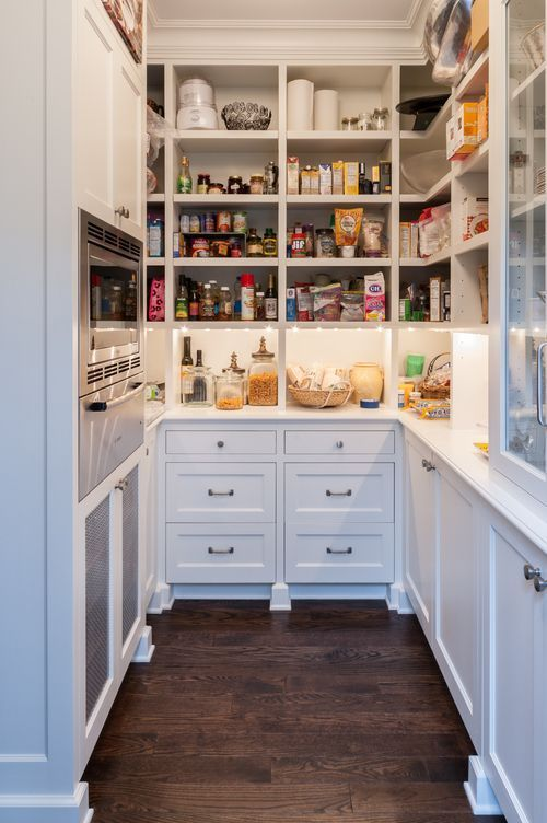 Rustic Farmhouse Pantry Decor And Organization Pantry