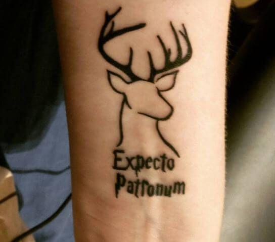 Harry Potter Patronus Tattoos Harry Potter Tattoos Tattoos Patronus Tattoo
