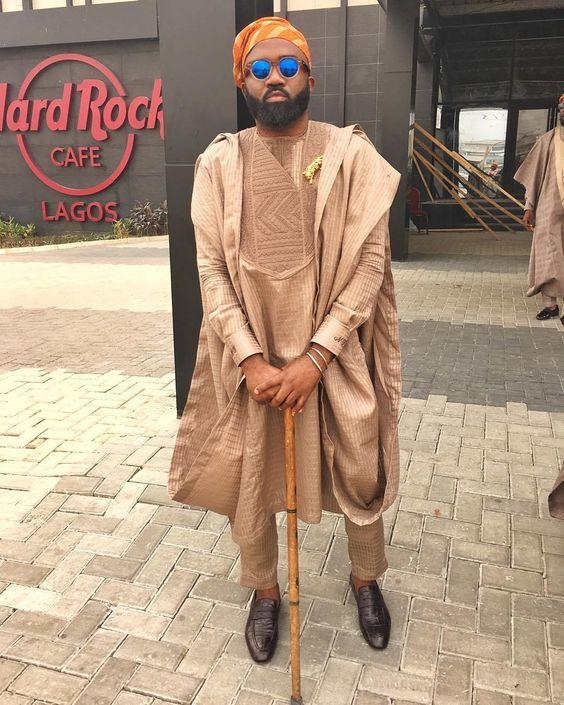 15 Short Agbada Styles For Men (2018/2019)