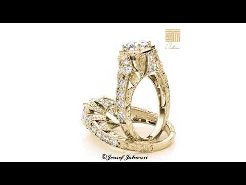 اجمل خاتم خطوبة او زواج مصنوع من الذهب و الماس Youtube Engagement Rings Jewelry Engagement