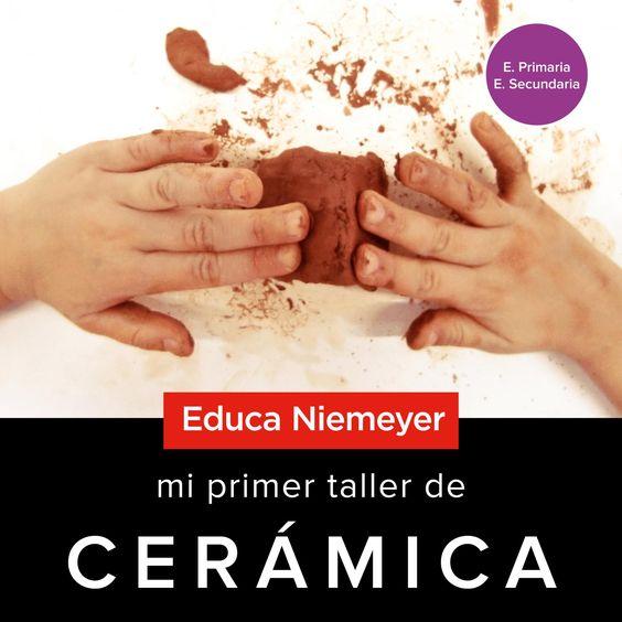 Mi primer taller de cerámica - Cerámica en el Centro Niemeyer