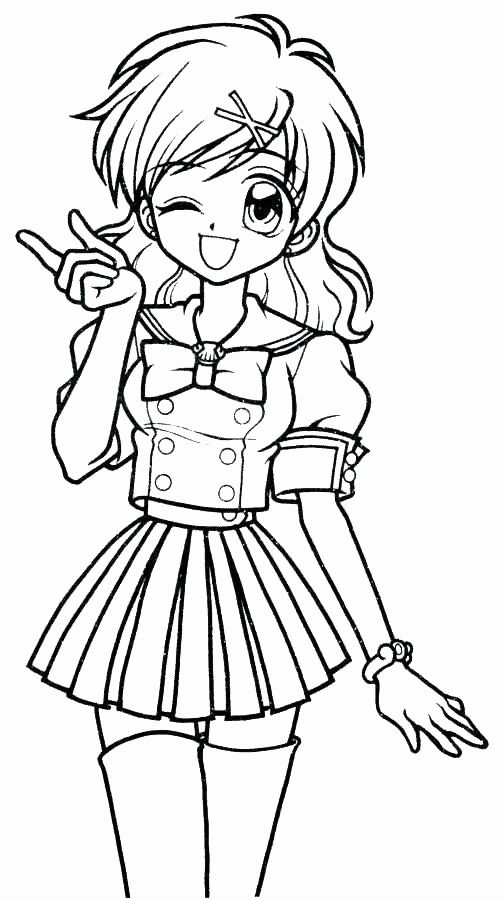 Girl Anime Coloring Pages Elegant Printable Anime School Girl Coloring Pages Chibi Coloring Pages Anime School Girl Coloring Books