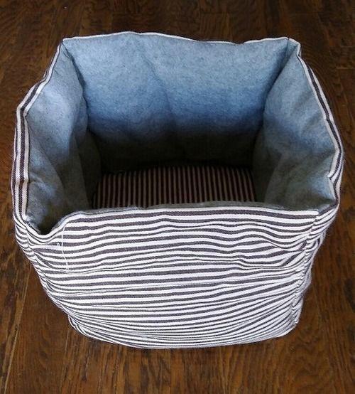 簡単にできる手作り猫ベッド 猫壱 ねこいち ネコイチ 公式サイト 猫 ベッド 手作り ドッグベッド ペット用ベッド