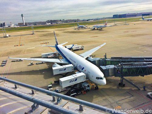 Reisekosten für Japan Flug, Hotel, Essen etc.