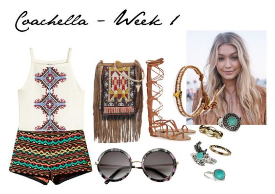 """""""Coachella - Week 1"""" by shafirapramesi ❤ liked on Polyvore featuring H&M, Jason Wu and Chan Luu"""