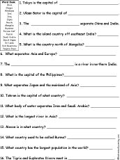 asian geography lessons