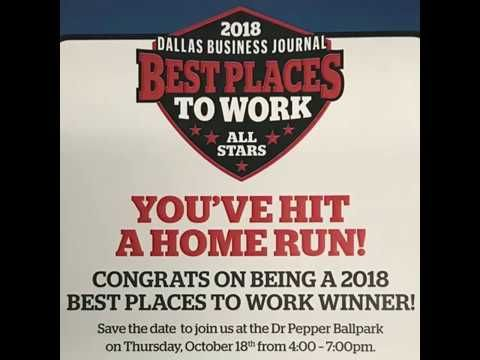 We Just Received Great News From The Folks At Dallas Business