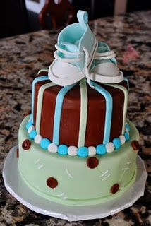perfect boy baby shower cake change colors for girl or gender unknown