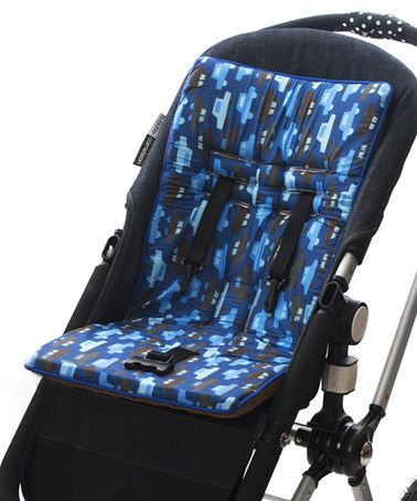 Chocolate Cars Cush 'n' Go Stroller Cushion by Baby-BeeHaven #zulily #zulilyfinds