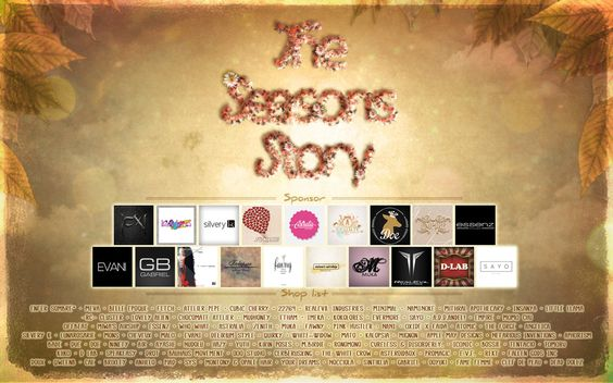 """https://flic.kr/p/MV5JGD   The Seasons Story - 3 years anniversary * Autumn * COMING SOON !   The Seasons Story 3 year anniversary """"Autumn"""" round is COMING SOON !  Autumn Sim design by Lemon & Chloe  Oct 10th Midnight SLT is the Opening. (Oct 9th going to the 10th) Oct 31th slt Midnight (Oct 30th going to the Nov 1th) is Close !  We have so many awesome autumn Item and Gift this round :D  I hope you guy enjoy the Shopping & Gift this round too <3 !  LM ♥ Attached soon!  ..."""
