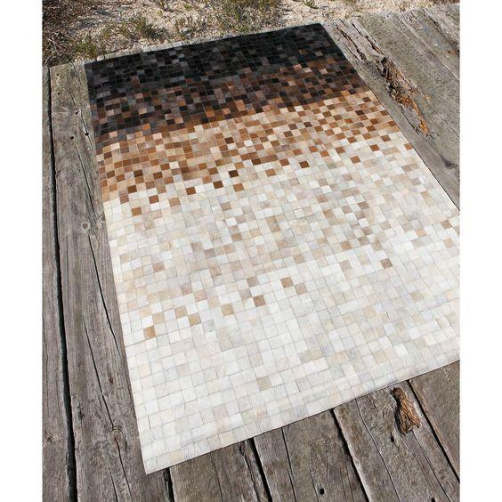 M s de 1000 ideas sobre alfombra de piel en pinterest - Alfombras dibujos geometricos ...