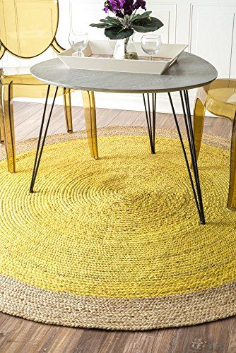 round rugs, natural and yellow on, amazon 8 foot round rugs, amazon round bath rugs, amazon round braided rugs