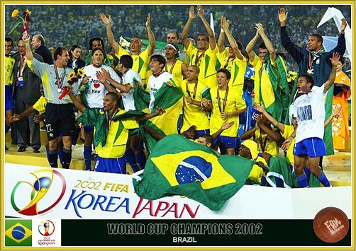 Fan Pictures 2002 Fifa World Cup South Korea Japan World Cup Fifa Brazil Football Team