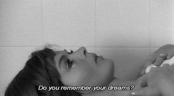 Do you remember your dreams? - Separation, Jane Arden & Jack Bond, 1967.