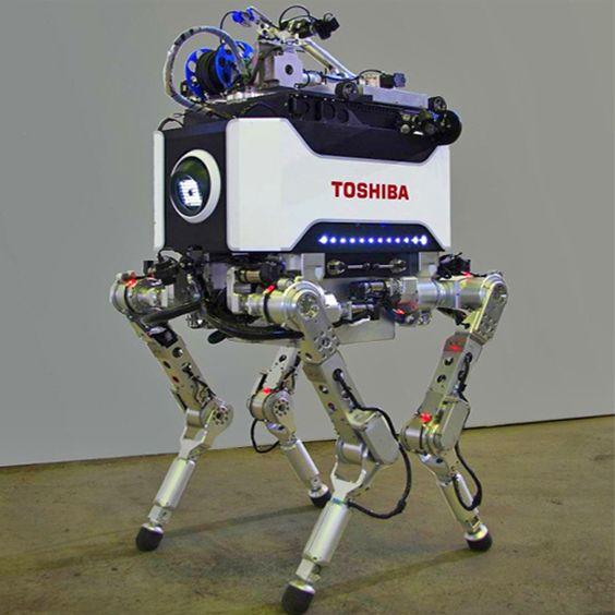 Toshiba apresenta robô desenvolvido para enfrentar desastres nucleares