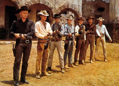 we just saw the Magnificent Seven on a big screen, with that score full volume. fabulous. the amount of manliness is overwhelming